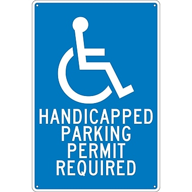 Handicapped Parking Permit Required, 18