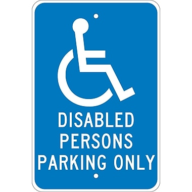Disabled Persons Parking Only, 18