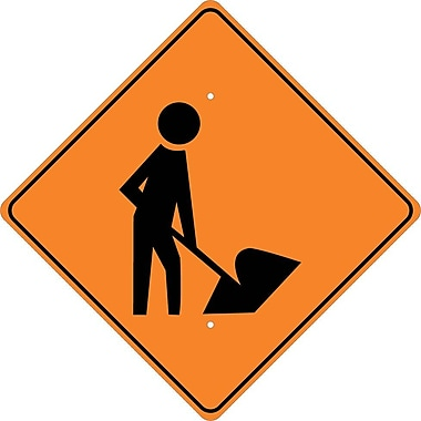 Graphic Of Man with Shovel, 24