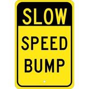 Slow Speed Bump, 18X12, .080 Egp Ref Aluminum