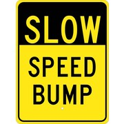 Slow Speed Bump, 24X18, .080 Egp Ref Aluminum