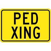Ped Xing, 12X18, .080 Egp Ref Aluminum