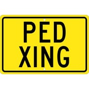 Ped Xing, 12X18, .080 Hip Ref Aluminum