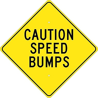 Caution Speed Bumps, 24