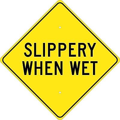 Slippery When Wet, 24X24, .080 Hip Ref Aluminum