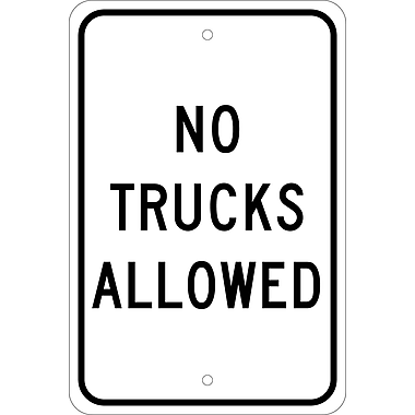 No Trucks Allowed, 18