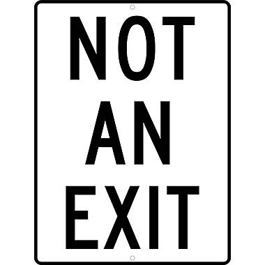Not An Exit, 24