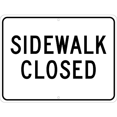 Sidewalk Closed, 18