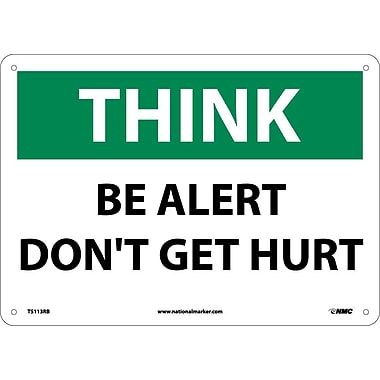 Think, Be Alert Don't Get Hurt, 10