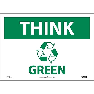 Think (Graphic) Green, 10X14, Adhesive Vinyl