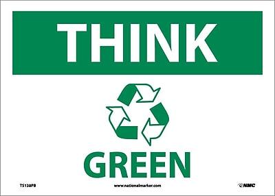 Think (Graphic) Green, 10X14, Adhesive Vinyl