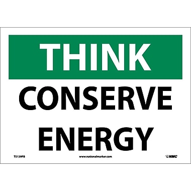 Think, Conserve Energy, 10