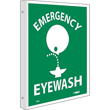 Emergency Eye Wash, Flanged, 10