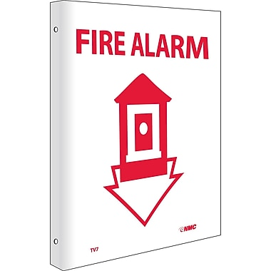 Fire Alarm, Flanged, 10