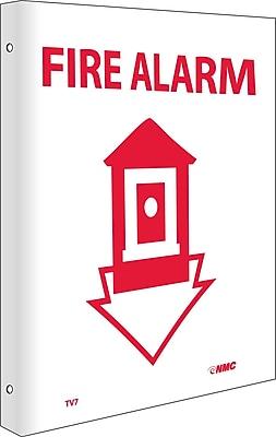 Fire Alarm, Flanged, 10X8, Rigid Plastic