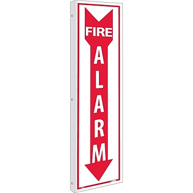 Flange, Fire Alarm, 18X4, Rigid Plastic