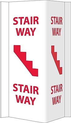 Visi, Stairway, 16X8.75, PVC Plastic