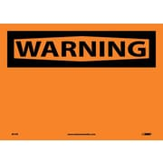 Warning, (Header Only), 10X14, Adhesive Vinyl