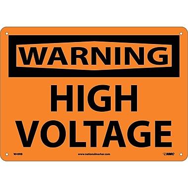 Warning, High Voltage, 10
