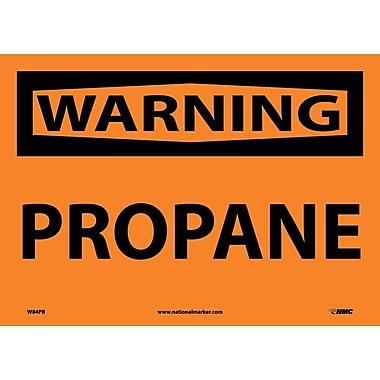 Warning, Propane, 10