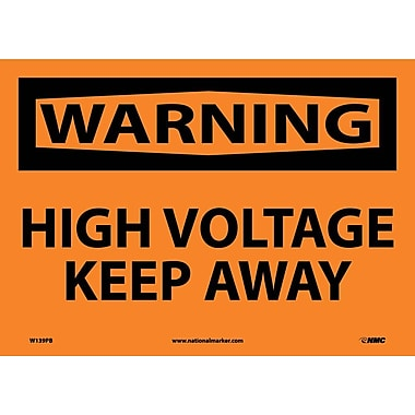 Warning, High Voltage Keep Away, 10