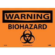 Warning, Biohazard, Graphic, 10X14, Adhesive Vinyl