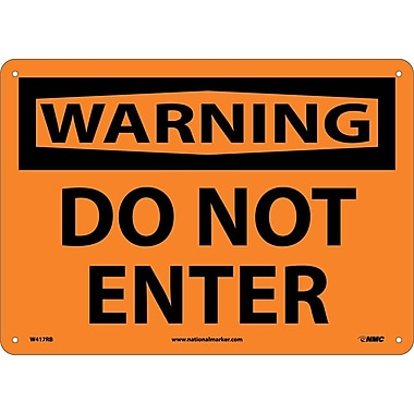 Warning, Do Not Enter, 10