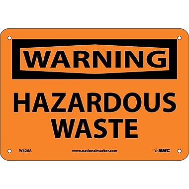 Warning, Hazardous Waste, 7