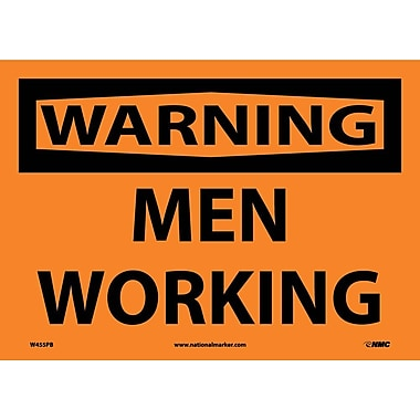 Warning, Men Working, 10