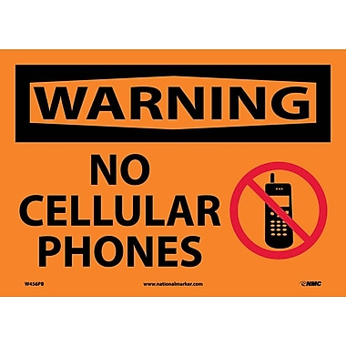 Warning, No Cellular Phones, Graphic, 10