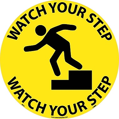 Floor Sign, Walk On, Watch Your Step, 17