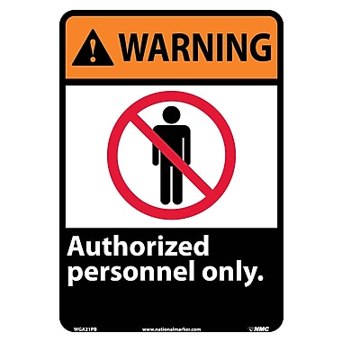 Warning, Authorized Personnel Only, 14