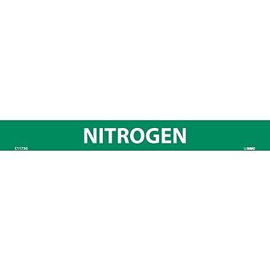 Pipemarker, Adhesive Vinyl, 25/Pack, Nitrogen, 1