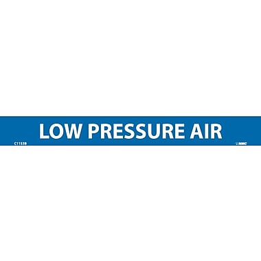 Pipemarker, Adhesive Vinyl, 25/Pack, Low Pressure Air, 1