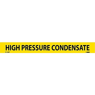 Pipemarker, Adhesive Vinyl, 25/Pack, High Pressure Condensate, 1