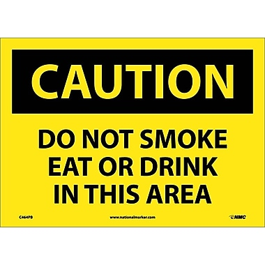 Caution, Do Not Smoke Eat Or Drink In This Area, 10