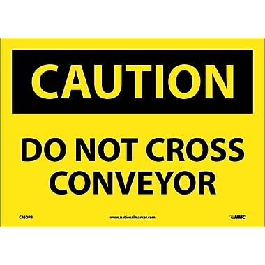 Caution, Do Not Cross Conveyor, 10