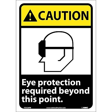 Caution, Eye Protection Required Beyond This Point, 14