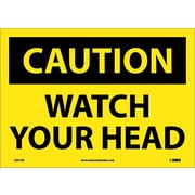 Caution, Watch Your Head, 10X14, Adhesive Vinyl
