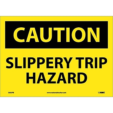 Caution, Slippery Trip Hazard, 10