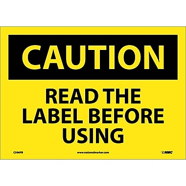 Caution, Read The Label Before Using, Graphic, 10