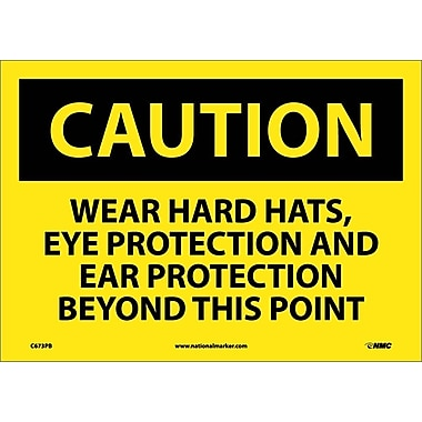 Caution, Wear Hard Hats Eye Protection And Ear Protection Beyond This Point, 10