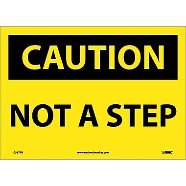 Caution, Not A Step, 10