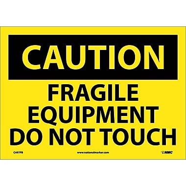 Caution, Fragile Equipment Do Not Touch, 10