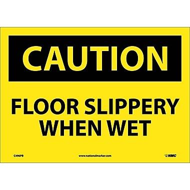 Caution, Floor Slippery When Wet, 10