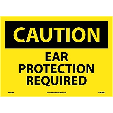 Caution, Ear Protection Required, 10