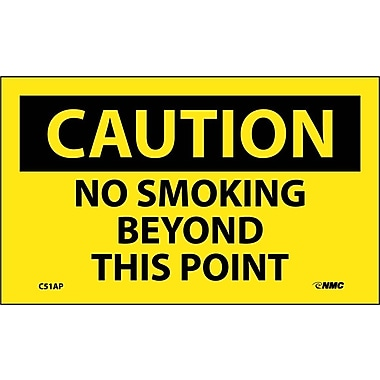 Caution, No Smoking Beyond This Point, 3