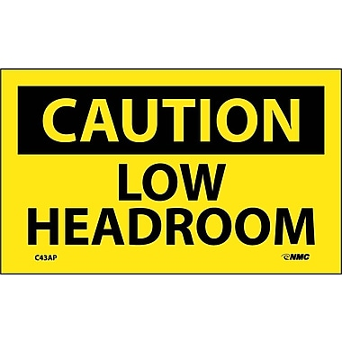 Caution, Low Headroom, 3