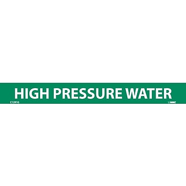 Pipemarker, High Pressure Water, 1
