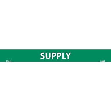 Pipemarker, Adhesive Vinyl, Supply, 1X9 1/2